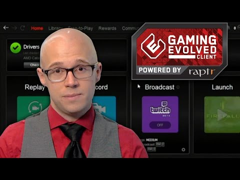 Explore AMD's Gaming Evolved Client with Robert Hallock
