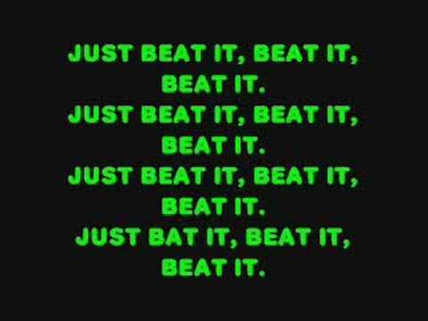Fall Out Boy- Beat It (lyrics)
