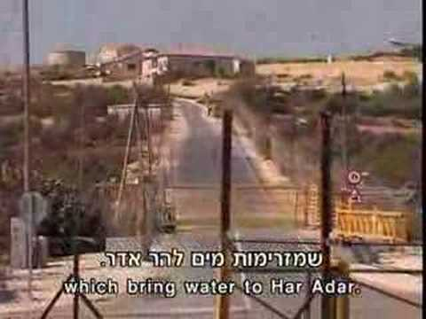 Documentary:  Settlements and Palestinian Water Supply