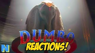 Disney's Dumbo Live Action Trailer REACTIONS! | NW News