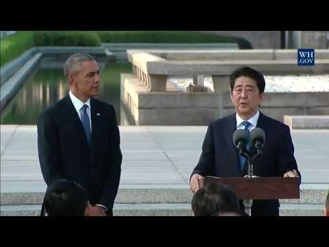 PM Shinzo Abe - Hiroshima Peace Memorial Speech