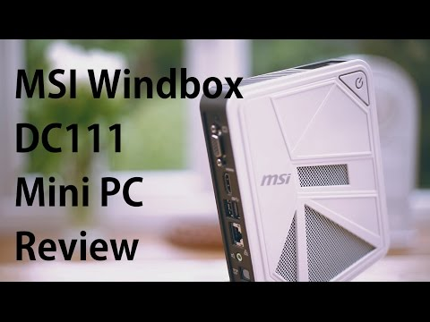MSI Windbox DC111 Mini PC Review