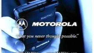 Motorola Startac TV Ad 1996