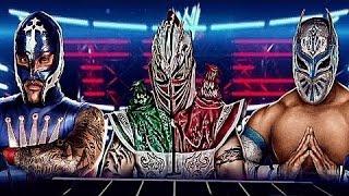 Rey Mysterio, Myzteziz and Kalisto (Masked Marvels) ''My Pain''