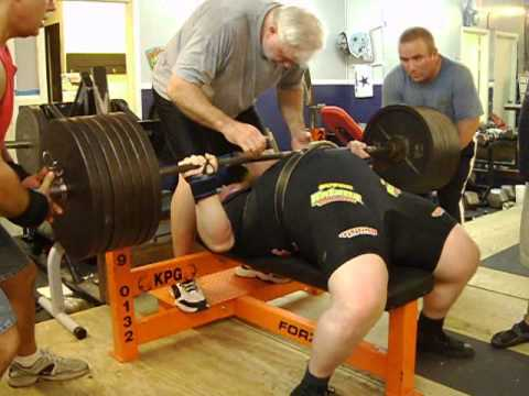 Henry Thomason Powerlifting Bench Press Training 11-19-11 Image 1