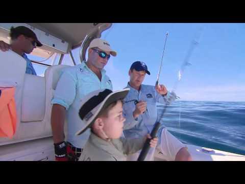 Coral Coast Kid, SailFish - Exmouth WA Fishing Australia