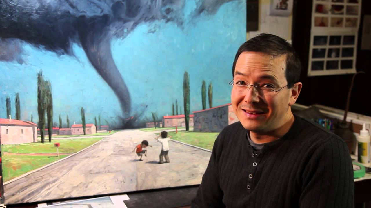 shaun tan talks about places and backgrounds