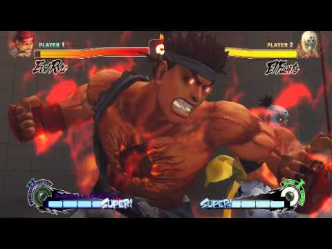 Ultra Street Fighter 4 Evil Ryu Kara Ultra 2 Demonstration