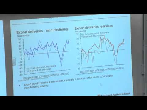 Yorkshire Bank Lecture - Tom Vosa: Chief Economist, Yorkshire Bank