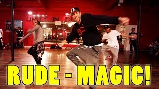 RUDE - MAGIC Dance Video | @MattSteffanina Choreography @OurNameIsMagic