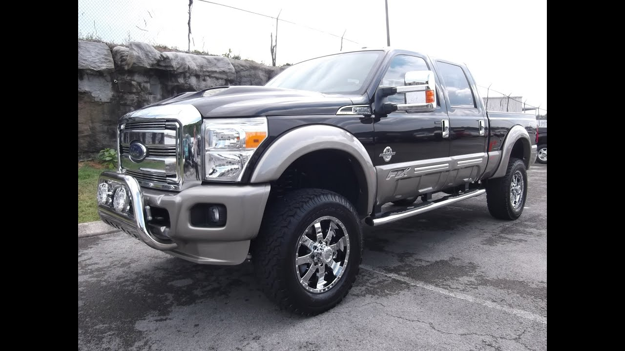 2013 Ford F 250 Ftx By Tuscany 6 Quot Pro Comp Lift At Ford Of