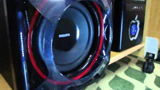 PHILIPS SPA 5300 BASS TEST