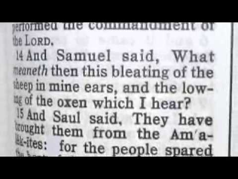 Part 283 (1 Samuel 15) Reese Chronological Bible