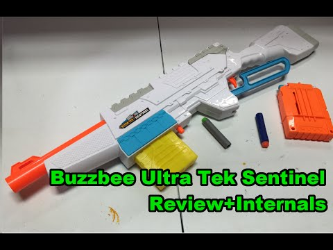 The BuzzBee Ultra Tek Sentinel is awesome. (Review+Internals)