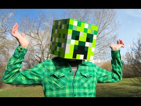 LEGO Creeper Head - Minecraft