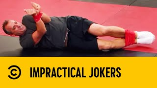 Joe Gatto Teaches Hadouken At Krav Maga | Impractical Jokers