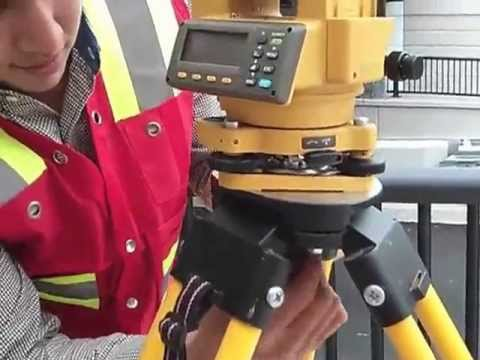 total station set up, engineering, surveying an layout fuctions