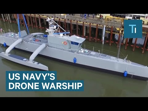New Drone Warship Drive Itself As It Hunts Submarines