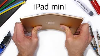 iPad mini Bend Test! - Do ALL Tablets Break?!