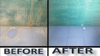 HOW TO CLEAN BATHROOM TILES AT HOME || HOW TO CLEAN BATHROOM FLOOR AT HOME