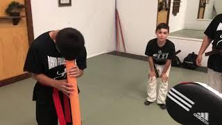 DFK Sports Week - dizzy round house kicks game