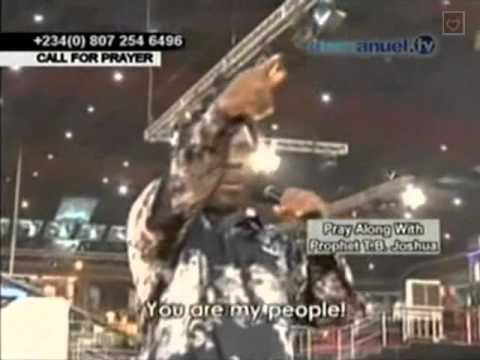 Tb Joshua. Prayer For Viewers. 15-01-2013 video
