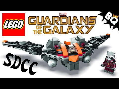 LEGO Rocket Raccoon Exclusive SDCC Marvel Guardians of the Galaxy Set