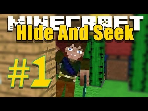 Minecraft : Hide And Seek(#1)