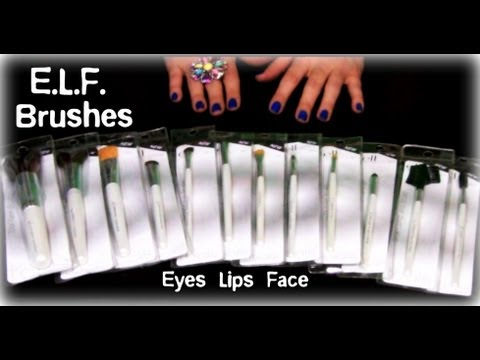ELF Cosmetics Professional Brushes Review