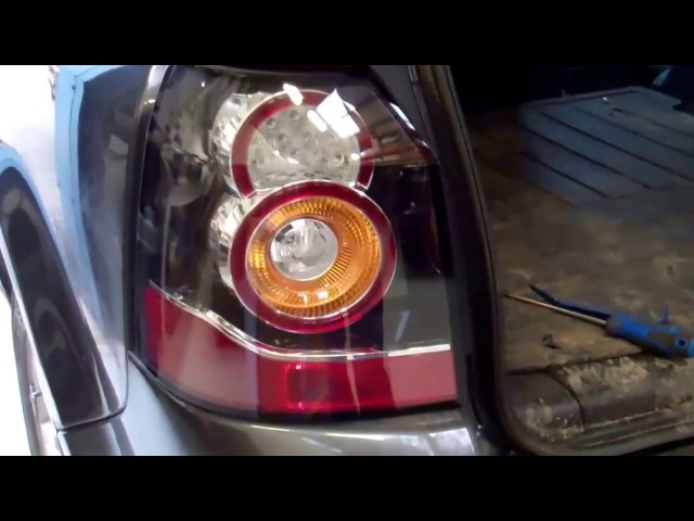 How to upgrade Freelander 2 / LR2 to new type LED rear ...