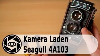 Seagull A4103 Analog Kamera: Laden und Entladen Tutorial.