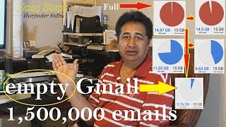 How to empty Gmail   Get more space on gmail   How to Delete all Gmail emails