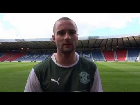 Hibernian's James McPake on Scottish Cup Final