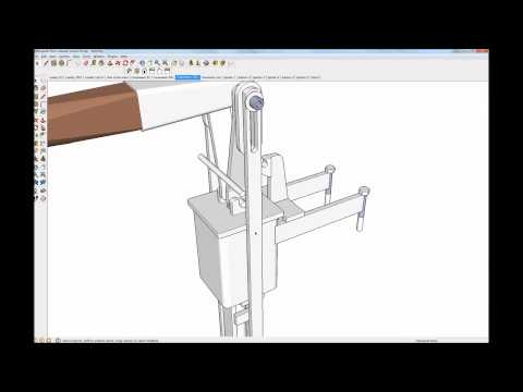 Briquette Press Sketchup Video