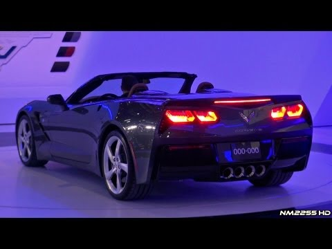 Corvette Stingray on 2014 Corvette C7 Stingray Convertible Start Up   2013 Geneva Motor