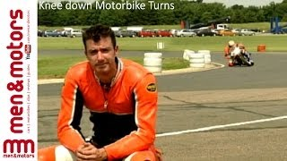 Knee-Down Motorbike Turns