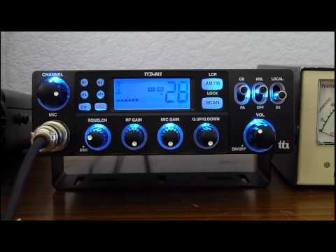 USA Heard From Scotland (Irvine, Ayrshire) On TTI TCB-881 CB Radio #1 (30sep2012)