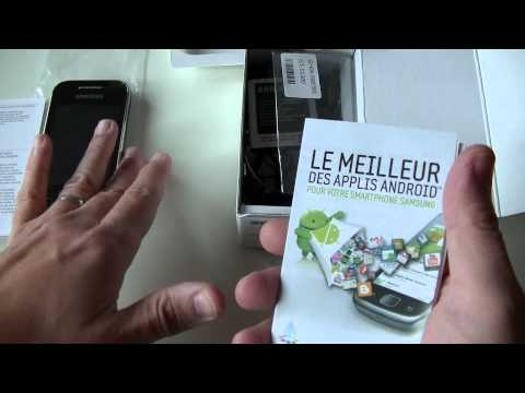 Samsung Galaxy Y (GT-S5360) - déballage   par Top-For-Phone.fr
