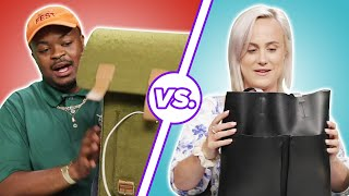 Men and Women Compare What's In Their Bags • Part 2