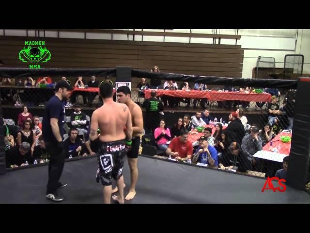 ACSLIVE.TV Presents Madmen MMA Night Of Champions Ben Lucio vs Joshua Polkow 195