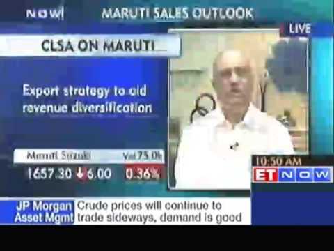 'Maruti Suzuki's October sales were very good'