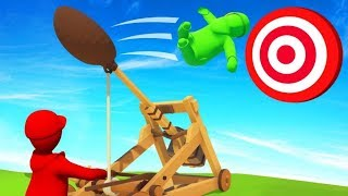 HIT TARGET = WIN GAME! (Human Fall Flat)
