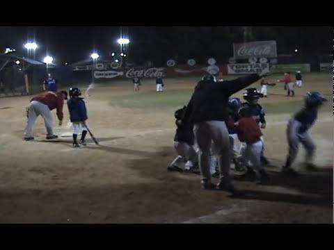 Cachanillas vs Cidea  beisbol Infantil jon ron de Simbad jr