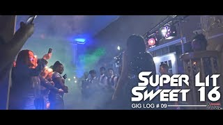DJ GIG LOG: Sweet 16 in a MANSION! | SUPER LIT PARTY 🔥 | Weed & Cops Involved! 👮🏻 | New DJ Setup!