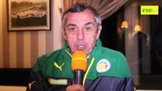 CAN 2015 | Interview d'Alain Giresse - Sénégal 1-0 Gabon