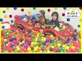 BALL PIT SURPRISE Family Fun Building Ball Pit in our house w...