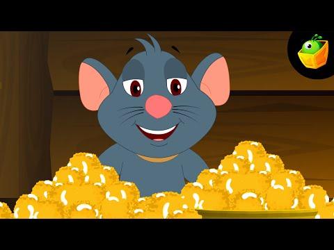Aaj Mangalwar Hai Chuhe  - Hindi Animated cartoon Nursery Rhymes For Kids video