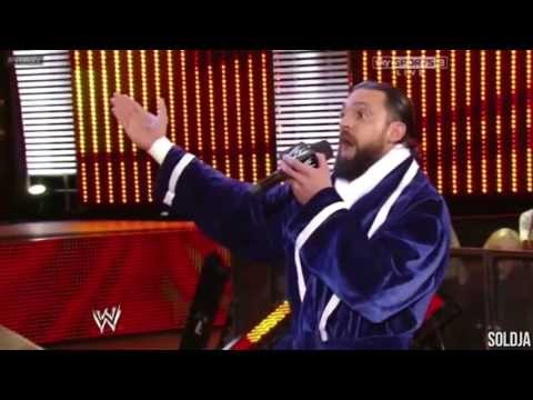 Damien Sandow Sings Randy Orton's Theme Wwe Raw 05.06.2013 video