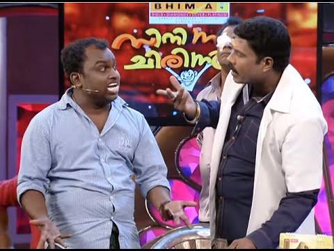 CINEMAA CHIRIMAA Siddique with Kalabhavan Mani & Nazeer Samkranthi Epi 40, 14 08 2014
