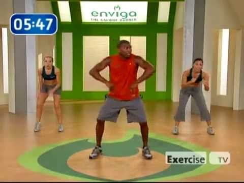 Bootcamp Calorie Burn   Workout Video   Exercisetv